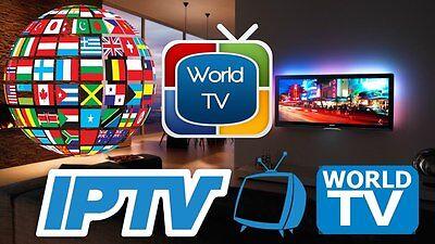 Arabisch,IPTV,welt, 5200 Sender SmartTV,Android,E2,mag,1 monat  15 Euro