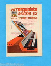 TOP971-PUBBLICITA'/ADVERTISING-1971- BONTEMPI - HIT ORGAN