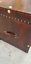 thumbnail 2 - Classic-Handmade-Leather-Brown-Finest-Leather-Trunk-With-Key-Leather-Box-Active