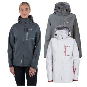 DLX-Womens-Softshell-Jacket-Waterproof-Hiking-Rain-Coat-Hooded-Breathable