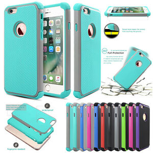 New-Hybrid-Shockproof-Rugged-Rubber-Hard-Cover-Case-for-iPhone-6-S-Plus-7-7Plus