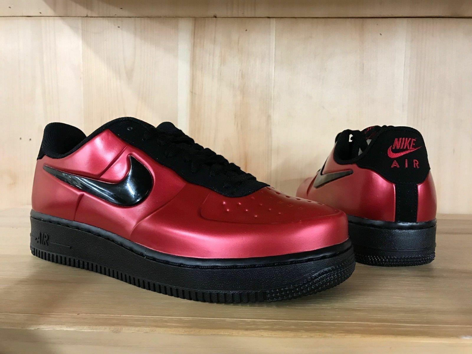 Nike Air Force One 1 Foamposite Pro Cup Sole Sole Sole Metallic Gym rot AJ3664-601 AF1 lot 567ed6