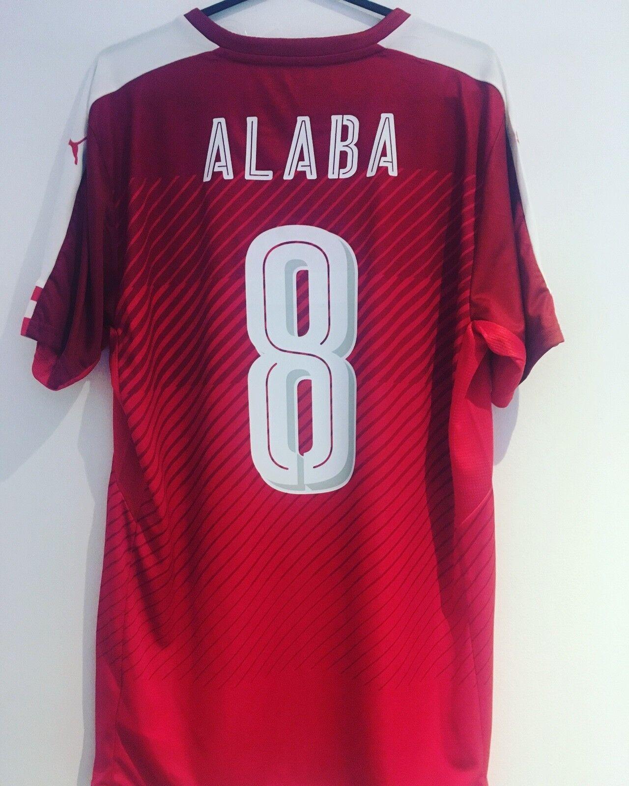 Last One  BNWT 16 17 Austria shirt Alaba Size L Bayern Munich