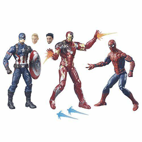 Iron Spider Iron Man Set Marvel Legends 80th Anniversary Hasbro