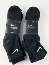 MEN 8-12 NIKE Everyday Cotton Cushioned Ankle Socks SX7669 SIZE L 6 Pair