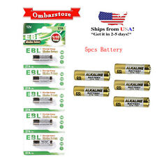 5 Pcs 27A 12V MN27/MS27 GP27A V27GA L828 A27 G27A Alkaline PK Cell Battery New