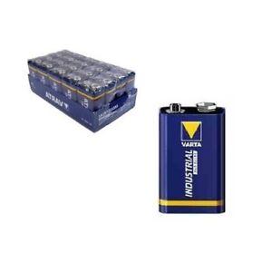 10x-9V-E-Block-6LR61-VARTA-Industrial-Alkaline-4022-MN1604-Hochwertige-Batterien