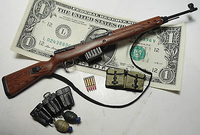 Miniature 1/6 scale WW2 German Army Wehrmacht G43 semi automatic rifle