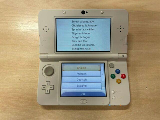Nouveau Nintendo 3 DS Console Portable-Blanc * Défectueux *