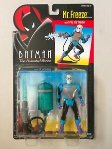 "DC Collectibles Batman Animated Series MR FREEZE action Figure old 7/"" mn7"