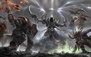 Details about Diablo 3 Ros - Rainbow Sword - Spektrum - 33 614 sps - PS4 /  Xbox One