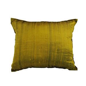 Cuscini Verde Acido.Fodera Cuscino In Seta 40x30 Color Verde Acido Ebay