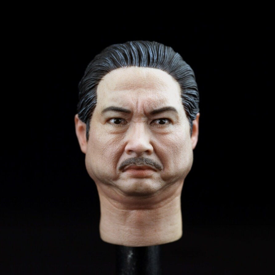 HOT FIGURE TOYS 1 6  HEADPLAY Sammo Hung headcarving Kung fu star