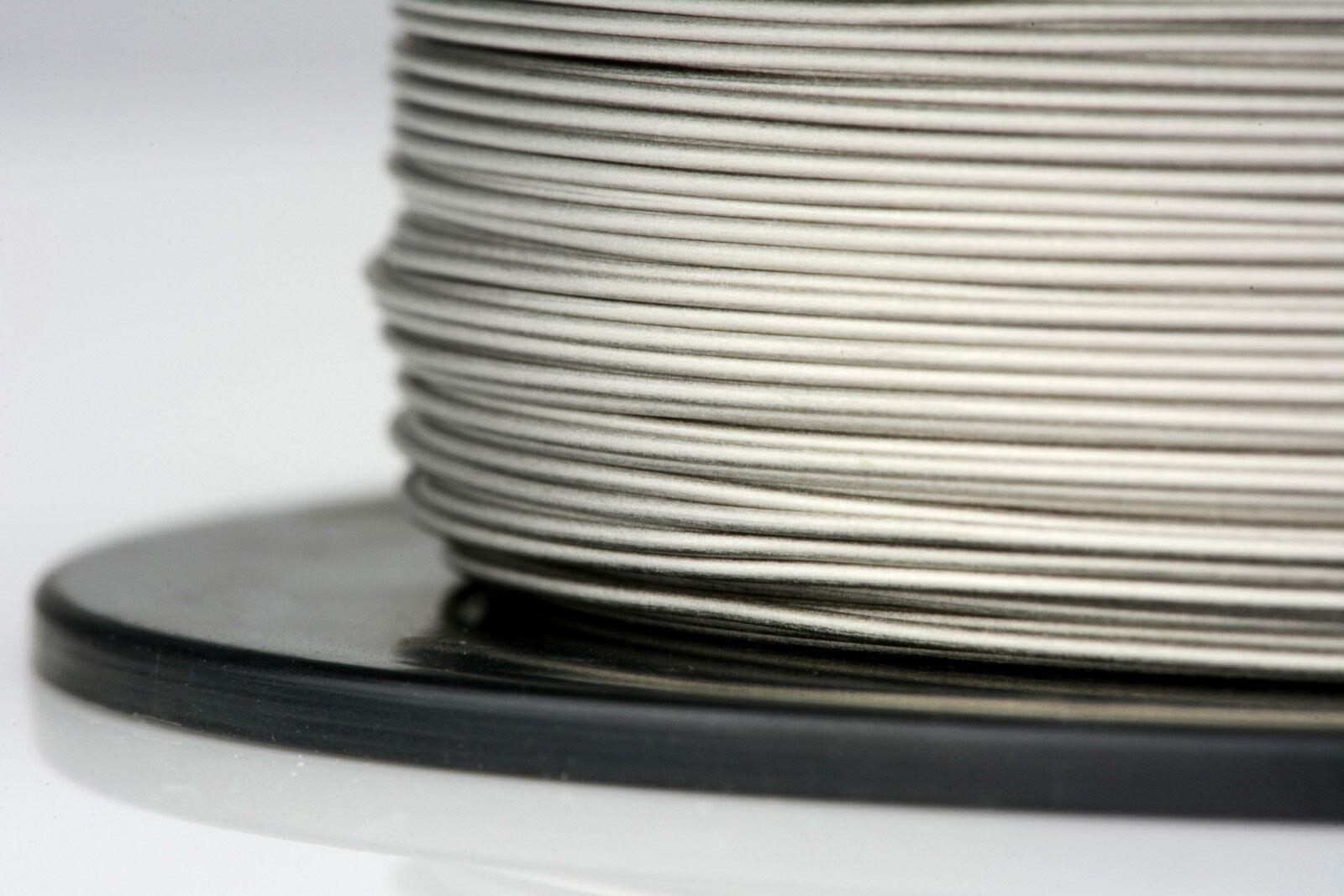 TEMCo Titanium Wire 26 Gauge 8 oz Surgical Grade 1 Resistance AWG ga 1183 ft