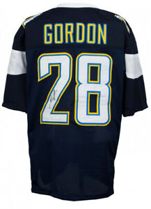 super popular fa87e 61826 Details about Melvin Gordon Signed Los Angeles Chargers Jersey (JSA COA)Pro  Bowl Running Back
