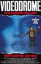 Videodrome movie poster 11 x 17 inches - David Cronenberg, Debbie Harry