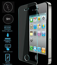 Genuine Gorilla HD Tempered Glass Film LCD Touch Screen Protector For iPhone 4S