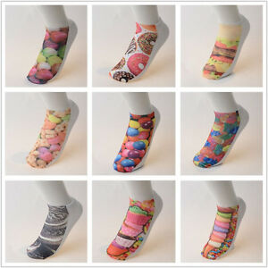 'Cute-Candy-Food-3D-Printed-Hot-Selling-Low-Cut-Ankle-Casual-Food-Socks-Xmas-Gift' from the web at 'https://i.ebayimg.com/images/g/hscAAOSwYIxX9g3Y/s-l300.jpg'