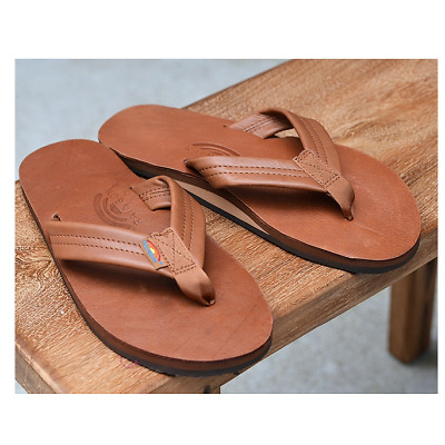 Rainbow Sandals 301ALTS Classic Tan Single Layer Flip Flop Mens sizes S-XXXL!!