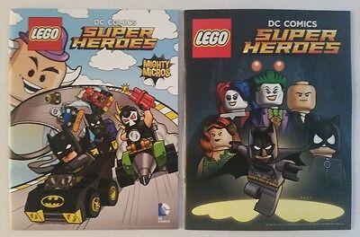 SDCC Comic Con 2015 Handout LEGO DC Comics Super Heroes comic w poster