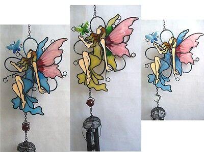 Klangspiel Windspiel Windgongs Schmetterling blau