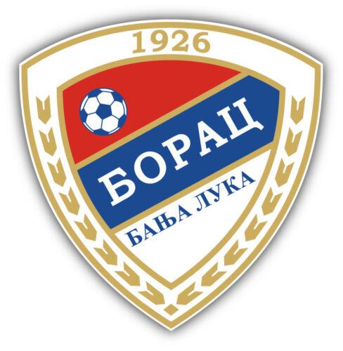 "Borac Banja Luka FC  Bosnia and Herzegovina Soccer Football Sticker 5/'/' x 5/"""