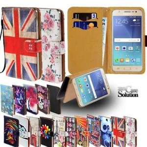 For-Samsung-Galaxy-Note-Phones-Leather-Wallet-Card-Stand-Flip-Case-Cover
