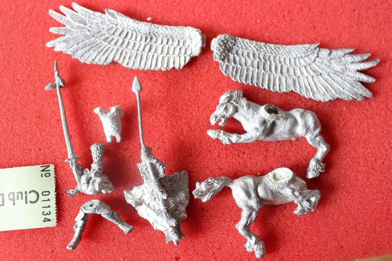 Games Workshop Warhammer MB15 Imperial Hero on Pegasus Marauder Empire Fantasy
