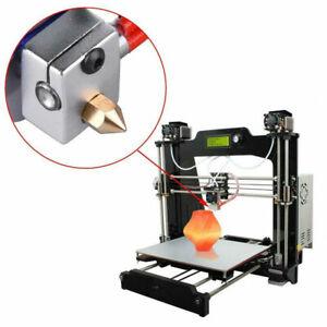 30PCS Brass Extruder Nozzle Print Head for MK8 Makerbot Reprap 1.0mm 3D Printer