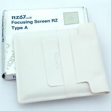 Mamiya RZ67 Pro II Focusing Screen Matte, boxed, mint condition