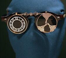 Time Sniper ~ Flip Up Shade Sunglasses ~ Retro Tortoise Time Traveller ~ Unisex