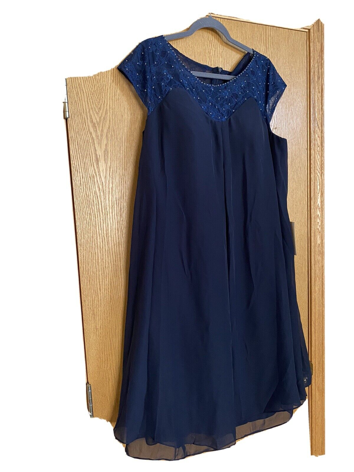 Mother of the Bride/Groom or Cocktail Dress in Navy