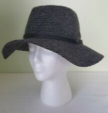 b6c9cf9ad3a item 3 Vince Camuto black grey wool floppy wide brim cowboy western hat  adjustable fit -Vince Camuto black grey wool floppy wide brim cowboy  western hat ...