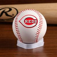 Cincinnati Reds Logo Baseball With Stand