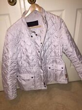 """COACH SIGNATURE DIAMOND QUILTED HACKING JACKET OYSTER XL  """"NWT"""""""
