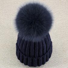 e2ae970e7fdb9 item 2 Women Real vulpes lagopus Fox Fur Detachable Pom Pom Braided Knitted Hat  Beanie -Women Real vulpes lagopus Fox Fur Detachable Pom Pom Braided  Knitted ...