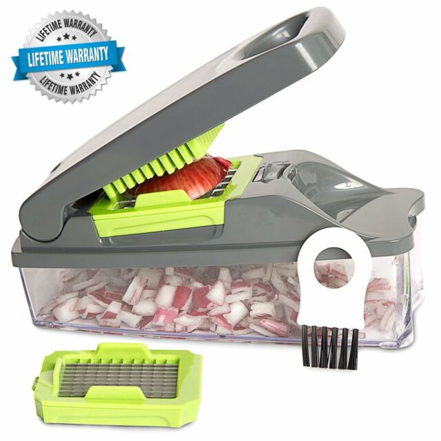 Onion Chopper Dicer Pro Vegetable Chopper - Strongest - NO MORE TEARS 30% H