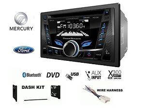 Ford Lincoln Mercury Touchscreen Bluetooth Cd Usb Radio Stereo 2 Din