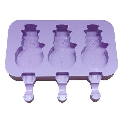 Silicone Pop Popsicle Mold Tray Pan Ice Cream Mold Maker Frozen Ice Lolly Mould