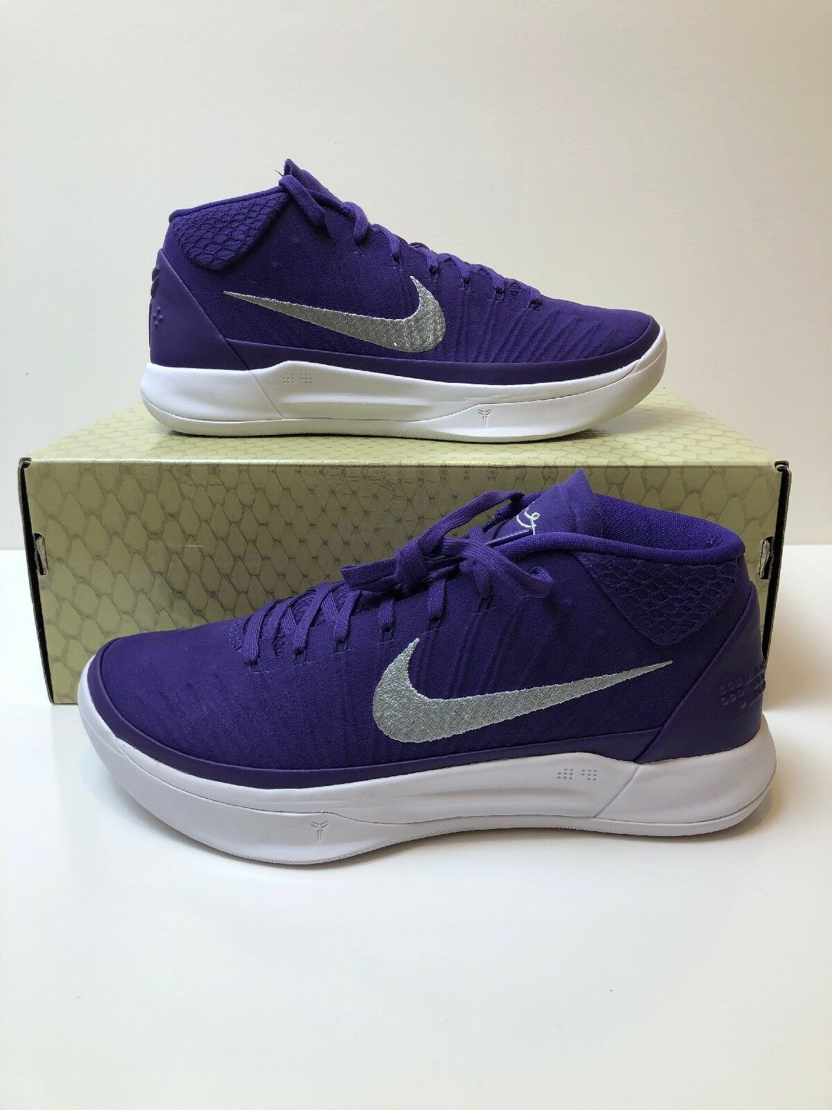 d0db38aa2aa3 Nike Kobe AD TB Promo Lakers Purple 942521-502 Mens Size Size Size 9.5 NEW