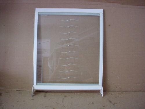Kenmore Refrigerator Glass Shelf in Frame Part # 2204926
