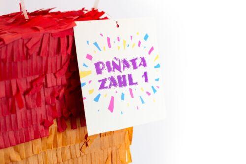 Pinata Zahlen Party für Kinder Geburtstag Kindergeburtstag Spiel Geschenk