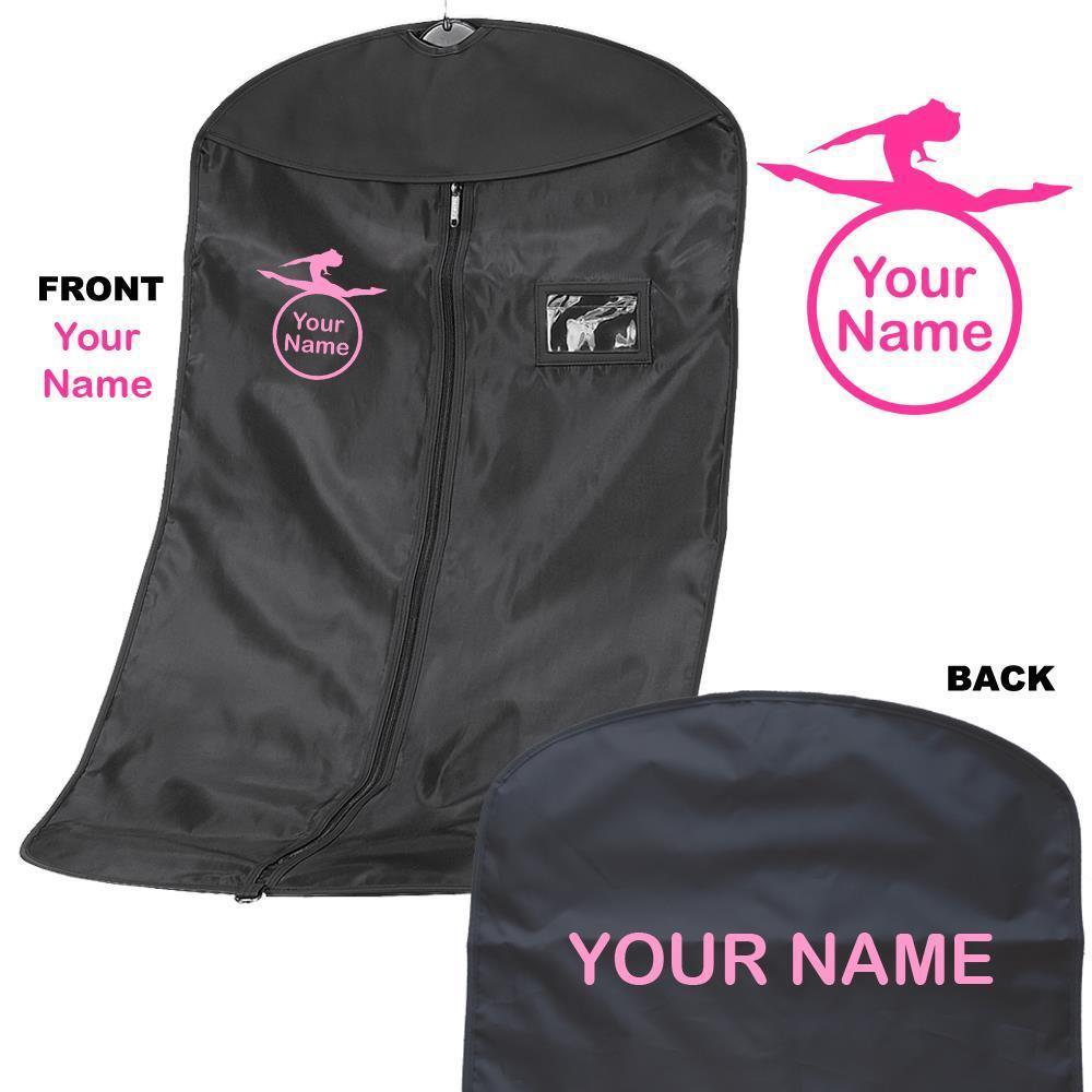 Personalised Gymnastics / Dance Suit carrier/Costume garment Bag - named 4
