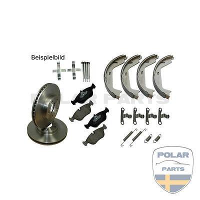 Bremsen Set / Kit hinten komplett Volvo 240 260 740 760 940 960