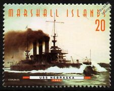 USS NEBRASKA (BB-14) Virginia Class Battleship Warship Stamp (1997)
