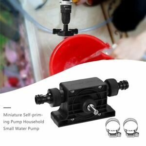 Hand-Electric-Drill-Pump-Miniature-Self-Priming-Pump-Household-Water-Pump-XX