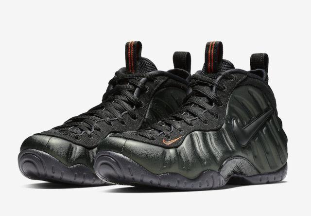 b26e72dd76fef Nike Air Foamposite Pro Mens 624041-304 Sequoia Black Basketball Shoes Size  9