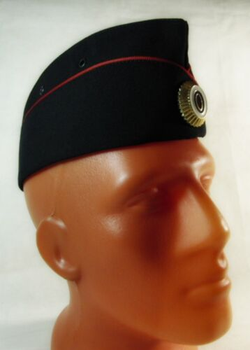 Original Russian Female Police Officer Pilotka Cap Hat with Badge New Uniform