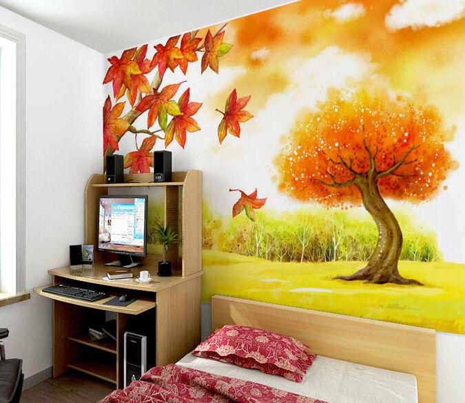 3D Schöne Ahornbäume 932 Tapete Wandgemälde Tapete Tapeten Tapeten Tapeten Bild Familie DE  | Förderung  | Hochwertige Produkte  | Neuartiges Design  b9ff32