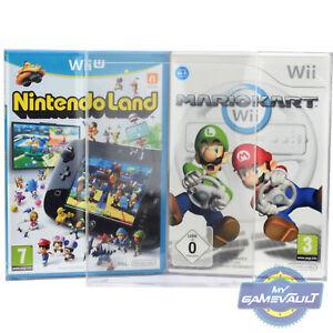 10 X Boîte Protections Pour Gamecube Wii U Jeu Solide En Plastique 0.4 Mm Display Case-afficher Le Titre D'origine Ay3ep6xz-07164828-928674031